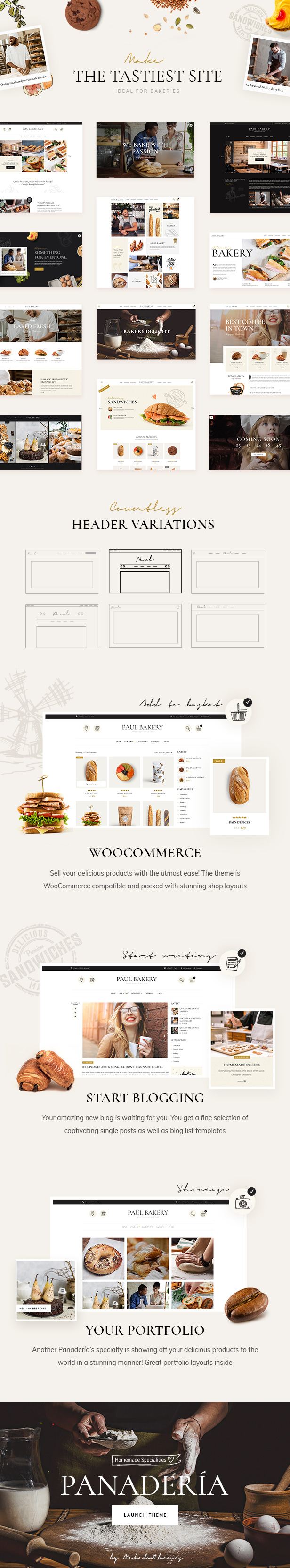 Panadería - Bakery and Pastry Shop Theme - 1